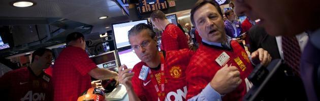 Manchester United, i risparmiatori-tifosi nella rete del calcio in Borsa