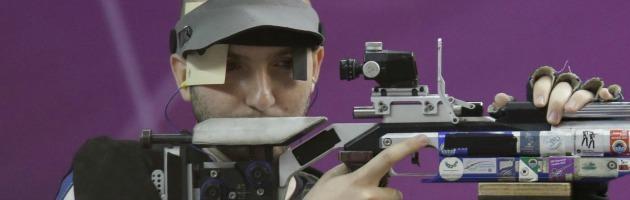 Londra 2012: Campriani oro nel tiro a segno, Fabbrizi argento nel trap