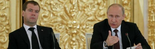 Guerra in Georgia, dopo quattro anni un filmato divide Putin e Medvedev