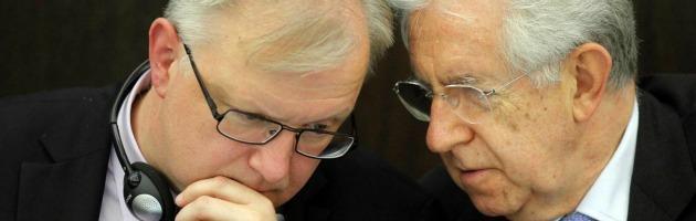 """Crisi, Rehn: """"L'Italia ha preso misure significative, ma ora deve continuare"""""""