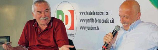La Festa del Pd applaude Sallusti: ora è un ospite gradito