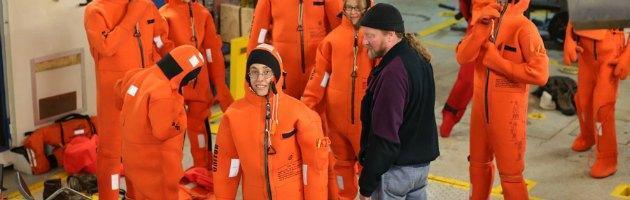 Save The Arctic: sulla nave di Greenpeace una donna rappresenta l'Italia