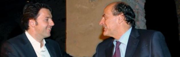 """Bersani: """"Le mie primarie tra la gente"""". Renzi: """"Lui l'usato, io il cambiamento"""""""