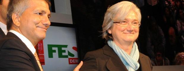 Vendola e Bindi uniti contro Renzi. Ma poi litigano sulle nozze gay (video)