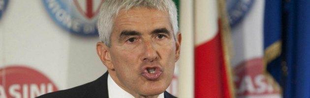 """Casini: """"Dialogo con il centrosinistra? Impossibile con Vendola e Di Pietro"""""""