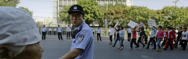 Manifestazioni in Cina