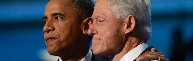 """Convention di Charlotte, Clinton lancia Obama: """"Deve finire il lavoro iniziato"""""""