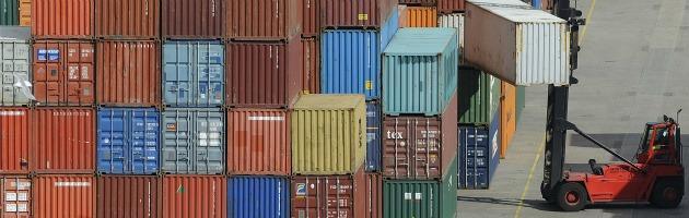 Istat, dati positivi sul commercio estero: a luglio avanzo di 4,5 miliardi