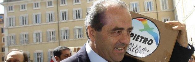 """Fondi dell'Idv, Di Pietro contro Report: """"Tutto regolare, ecco le carte"""""""