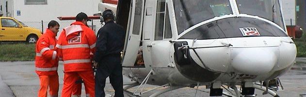 Alghero, il direttore del 118 di Palermo si fa ricoverare in Sicilia con l'elicottero
