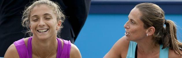 Errani e Vinci nella storia: vincono il doppio femminile agli Us Open