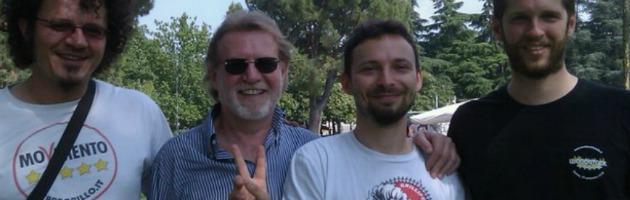 Favia viaggia da solo: a Piacenza la base del Movimento gli conferma la fiducia