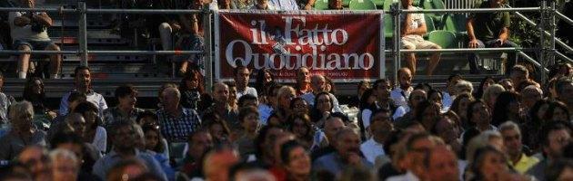 In migliaia alla Festa del Fatto, oggi focus su donne e tv