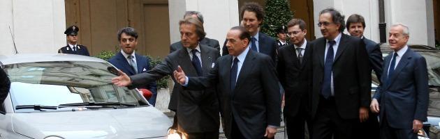 Berlusconi - Montezemolo