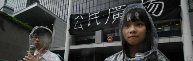 """Tian'anmen? Cancellata. A Hong Kong scuole in rivolta contro la """"linea"""" cinese"""