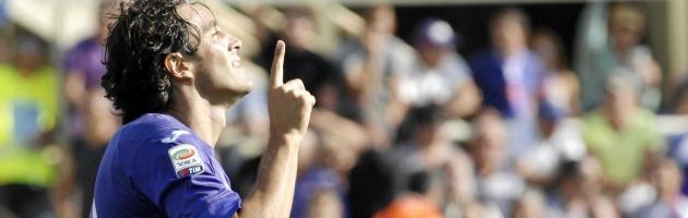 """Entra, segna e bacia il cielo """"per chi c'è e chi non c'è"""": il gol più bello di Luca Toni"""