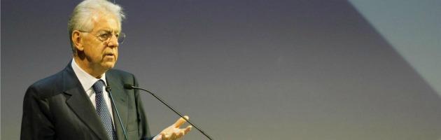 """Mario Monti: """"Con Statuto dei lavoratori meno posti di lavoro"""""""