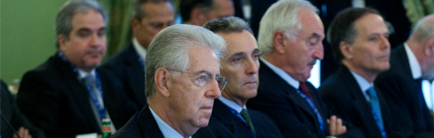 """Monti: """"Crescita dal 2013, il programma di austerità si ridurrà gradualmente"""""""