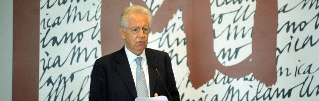 """Monti: """"Il governo ha aggravato la crisi per favorire una crescita duratura"""""""