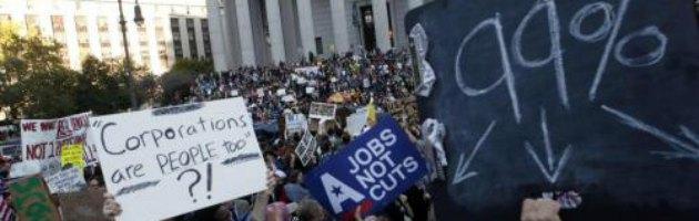 Occupy Wall Street dopo un anno, anniversario con 100 arresti