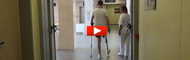 Bologna, l'ambulatorio dei miracoli dove nascono protesi olimpioniche (video)