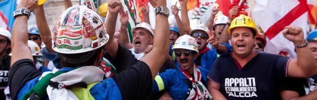 """Alcoa, Bonanni: """"Caso difficile da risolvere"""". Vendola e Fassina: """"Colpa del governo"""""""