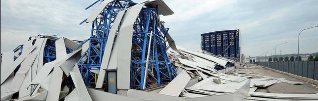 Terremoto, 40 indagati per i crolli dei capannoni