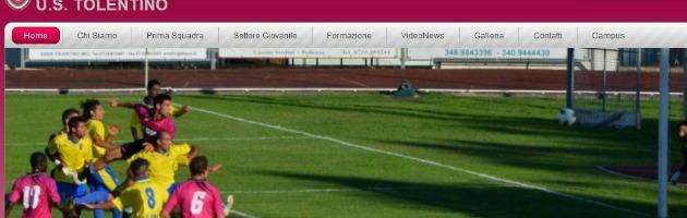Tolentino, la società non paga: l'impresa fa pignorare i cartellini dei calciatori