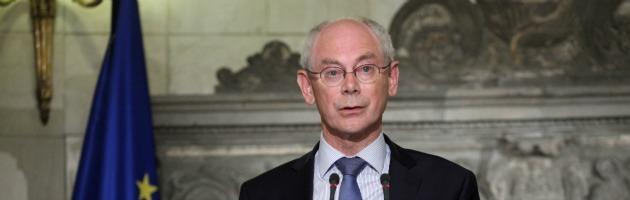 Van Rompuy lancia il ministero del Tesoro Ue e il bilancio centrale