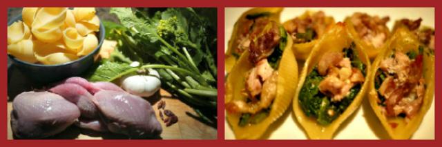 La ricetta del sabato di Alessia Vicari: conchiglie quaglia e broccoletti