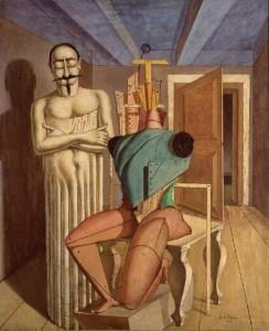 Giorgio De Chirico, Il ritornante, 1918
