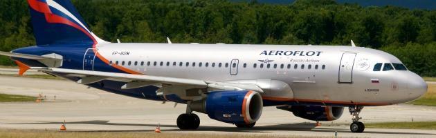 Aeroflot Bologna-Mosca, boom di passeggeri. E Rimini perde i clienti russi