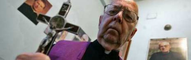 """Papa Francesco, Padre Amorth: """"Non vorrei che facesse la stessa fine di Luciani"""""""