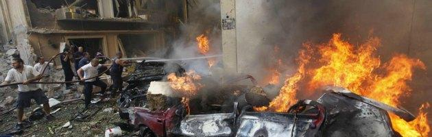 autobomba a beirut in zona cristiana
