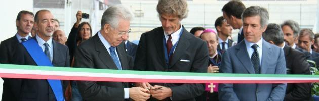 """Monti apre nuovo stabilimento Barilla: """"Andiamo avanti con coraggio"""""""