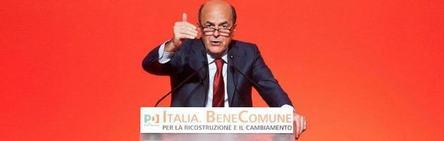 """Bersani: """"Non mi ricandiderò segretario Pd nel 2013"""""""