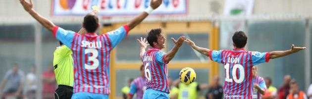 Catania - Juve gol annullato