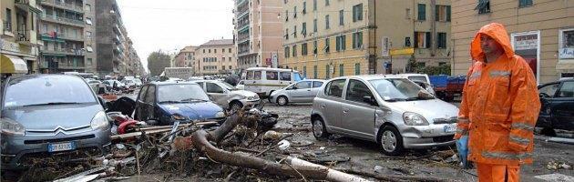 """Alluvione di Genova, i pm: """"L'orario della piena 'taroccato' sul Bollettino"""""""