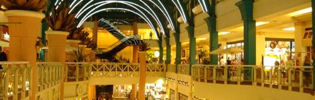 Brasile, exploit del settore shopping mall