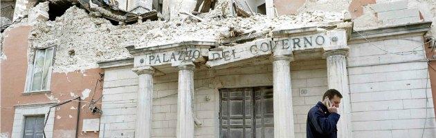 """Napolitano: """"E' ora di ricostruire L'Aquila, no alle new town"""""""