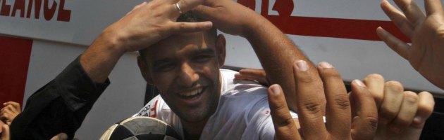 Barcellona Fc invita il soldato israeliano Shalit. Il palestinese Sarsak dice no