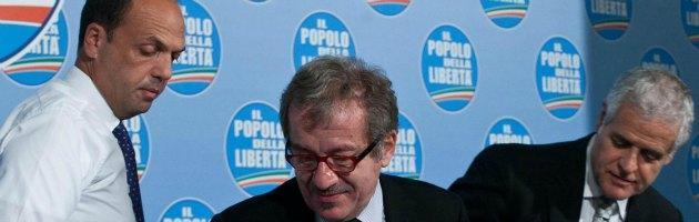 Lombardia, scontro Alfano-Formigoni sulla data delle elezioni. E spunta Albertini