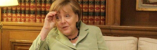 """Crisi, Merkel: """"Dobbiamo trattenere il fiato per 5 anni"""""""