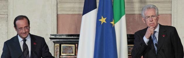 """""""Pareggio di bilancio, mancano 7 miliardi"""". Anche i francesi smontano Monti"""