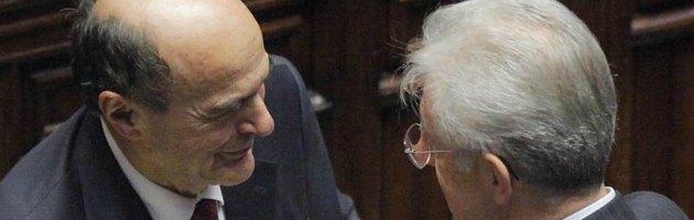 """Elezioni, Bersani: """"Monti ora è un politico, faccia chiarezza su cosa pensa"""""""