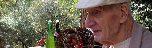 """Morto Paride Allegri, il partigiano """"agronomo"""" che fondò la comunità verde"""