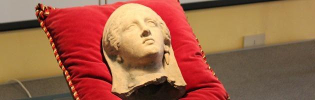 Piacenza, ritrovata statua di Pompei. Due denunciati per ricettazione