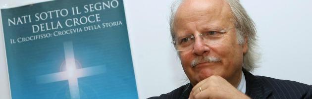 """Mezzaroma e la lista pro-Tremonti: """"Condono e crocifisso per tutti"""""""