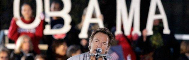 Usa, la musica di Springsteen e il fascino di Clinton per Obama in Ohio