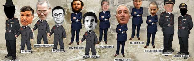 Trattativa Stato-mafia, fascicolo madre ancora aperto sugli 007
